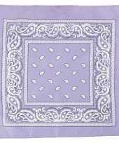 Sjaal paars met print carnavalskleding