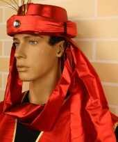 Sultan hoeden carnavalskleding