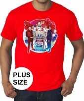 Toppers grote maten roodtoppers in concert 2019 officieel shirt heren carnavalskleding