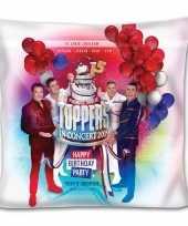 Toppers officieel toppers in concert 2019 kussen 40x40 carnavalskleding