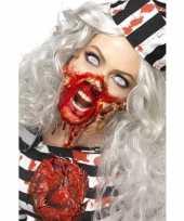 Zombie latex make up set carnavalskleding