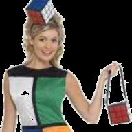 Carnavalskleding bruine lederhosen shorts broek voor dames carnavalskleding